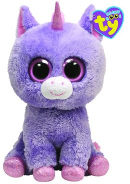Ty Beanie Boos Plush - Rainbow unicorn 13in
