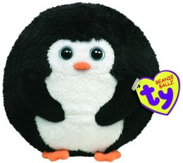 Ty Beanie Ballz Plush - Avalanche penguin