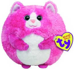 Ty Beanie Ballz Plush - Tumbles cat