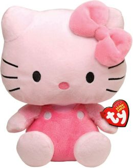 Hello Kitty Beanie Baby, All Pink