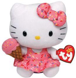 Hello Kitty Ice Cream Cone Plush