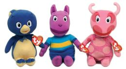 Ty Beanie Babies 3-Pack Plush - Backyardigans Pablo, Austin, & Uniqua