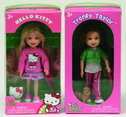 Hello Kitty & Trendy Taylor Ty Lil Ones 5 inch Dolls -2 pack