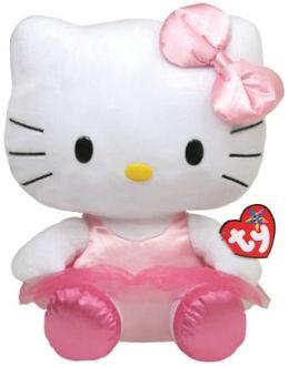 Ty Beanie Babies 13 Inch Plush - Hello Kitty Ballerina
