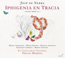 José de Nebra: Iphigenia en Tracia