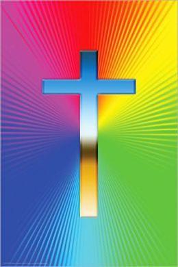Rainbow Cross - Poster
