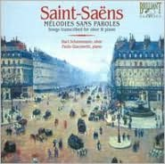 Saint-Saëns: Mélodies sans Paroles