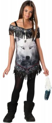 Tribal Spirit Tween Costume: Medium (10/12)