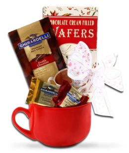 Valentine's Day Chocolate Mug Gift Set