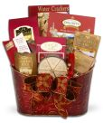 Product Image. Title: Alder Creek Yuletide Gathering Gift Basket