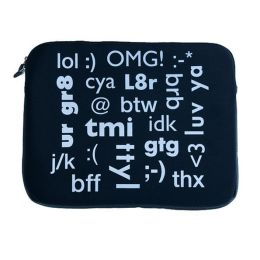 Conversation Laptop Sleeve - 15
