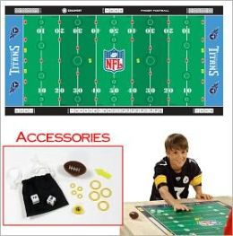 NFL Licensed Finger FootballT Game Mat - Titans