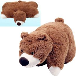 Large Size Cuddlee Pet Pillow - Brown Bear