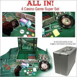 All In- The 4 Casino Game Super 370 Piece Set