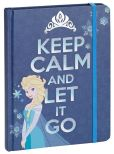 "Product Image. Title: Frozen Elsa Keep Calm & Let it Go Bound Lined Journal 6"" X 8"""