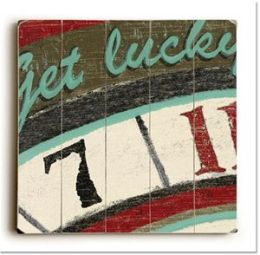 ArteHouse 0003-2580-34 Get Lucky Vintage Sign