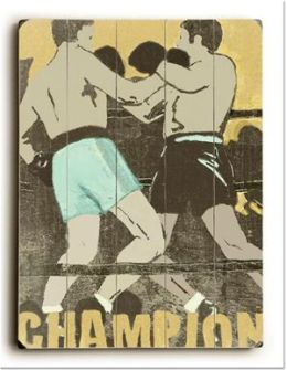 ArteHouse 0003-2586-20 Champion Vintage Sign