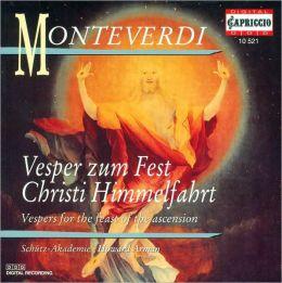 Monteverdi: Vesper zum Fest Christi Himmelfahrt