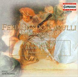 Ferdinando Carulli: Gitarrenkonzerte