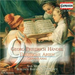 Handel: German Arias