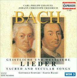 C. P. E. Bach & J. Ch. F. Bach: Sacred and Secular Songs
