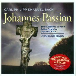 Carl Philipp Emanuel Bach: Johannes-Passion