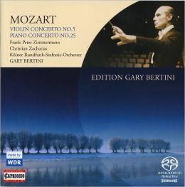 Mozart: Violin Concerto No. 5; Piano Concerto No.25 [Hybrid SACD]