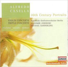 Alfredo Casella: Violin Concerto; Triple Concerto [Hybrid SACD]