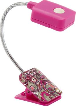 Vera Bradley Paisley Meets Plaid LED Clip-On Booklight