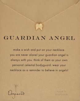 Guardian Angel Necklace, 18