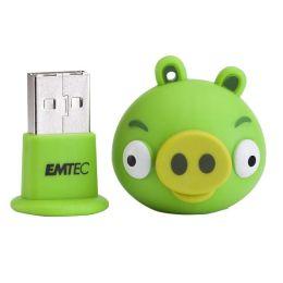 EMTEC A105 Angry Birds 4 GB USB 2.0 Flash Drive - Minion Pig