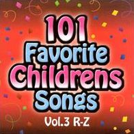 101 Favorite Childrens Songs, Vol. 3: R-Z