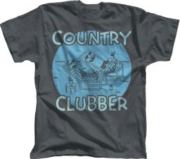 Diary of a Wimpy Kid ''Country Clubber'' Charcoal T-Shirt - L/XL