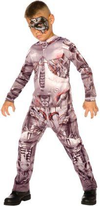 Cyborg Child Costume: Medium