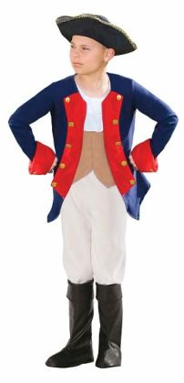 Patriot Soldier Boy Child Costume: Large