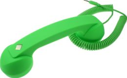 Native Union POP Phone Retro Handset - Neon Green Soft Touch