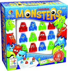 Monsters One Player Logic Game