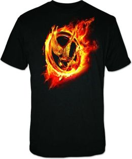 Hunger Games Movie Mens T-shirt X-Large