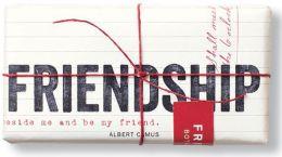 Friendship Quote Soap 7 oz