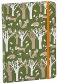 Product Image. Title: Fox And Hedgehog Pattern Journal