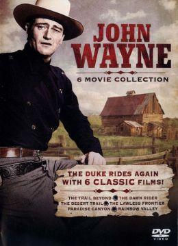 John Wayne 6 Movie Collecton