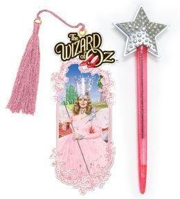 Wizard of Oz Glinda Pen & Bookmark Set