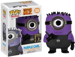 POP Minions Carl With Purple Disguise