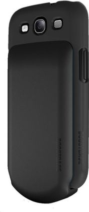 Boostcase Hybrid Snap-On Case & Detachable Extended Battery for Samsung Galaxy S3 - Black