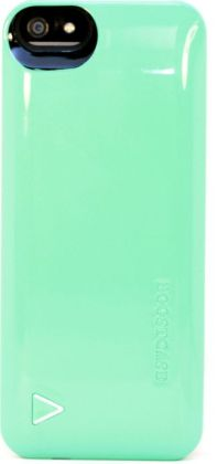 Boostcase Hybrid Snap-On Case & Detachable Extended Battery for iPhone 5 - Mint