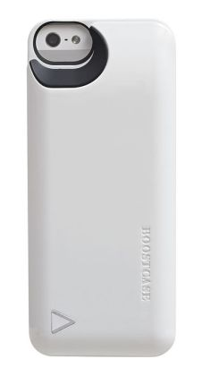 Boostcase Hybrid Snap-On Case & Detachable Extended Battery for iPhone 5 - White