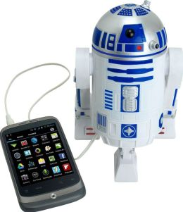 Star Wars Smart Phone Speaker Dock R2D2