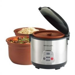 2-in-1 Rice N'' Slow Cooker