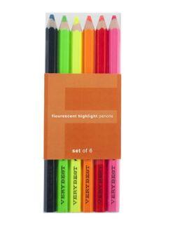Fluorescent Pencil Set