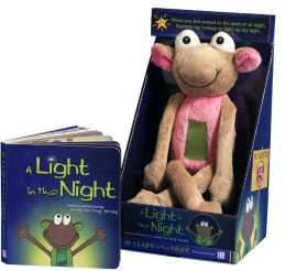 A Light in the Night (with pink plush)